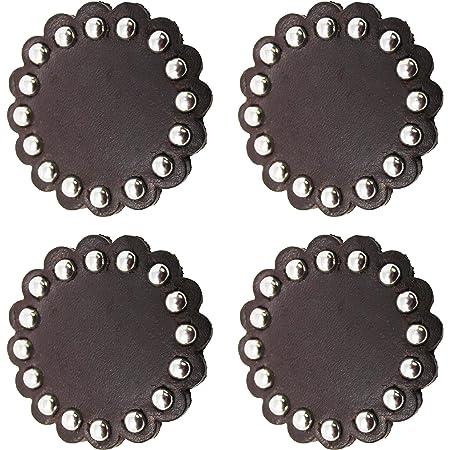 "Leather rosettes// Conchos 2/"""