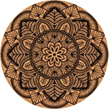 Mr Coaster Drink Coasters For Cups Mugs etc - Kitchen Living Room Home Decor With Fancy Mandala Designs 12-pcs set