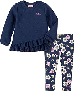 Juicy Couture Girls' 2 Pieces Leggings Set