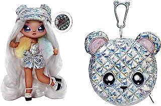 MGA Entertainment 575399EUCALT Na Na Na Surprise 2-in-1 Fashion Doll & Metallic Purse Glam Series, Verzamelbaar, Pop in pr...