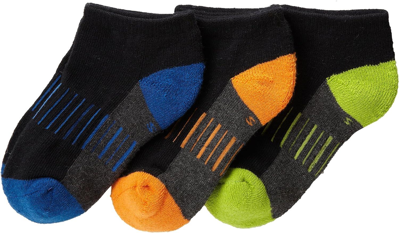 Jefferies Socks Little Boys' Performance Low Cut (Pack of 3)