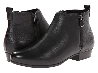 Munro Lexi (Black Leather/Print) Women