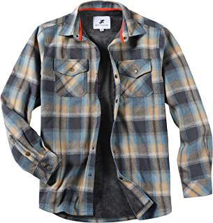 Men's Thermal Lined Flannel Shirt Jacket