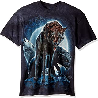 The Mountain Men's Bad Moon Wolves T-Shirt