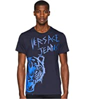 Versace Jeans - Tiger Logo Short Sleeve T-Shirt
