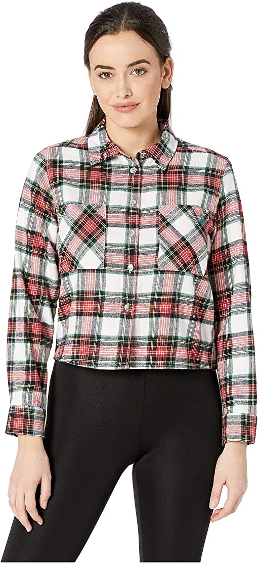 Tartan Plaid/Racing Red