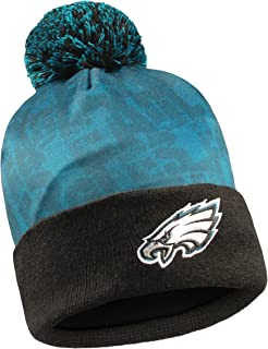 Forever Collectibles NFL Team Logo Light Up Printed Beanie Knit Cap