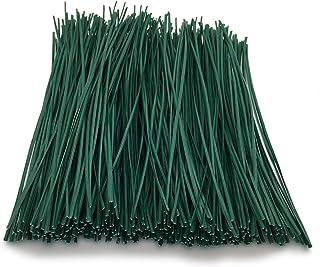 【EDEN】園芸用 緑色 グリーン 柔らか ソフト ビニールタイ ワイヤータイ 大容量 約462本 便利なカットタイプ (15cm)[E582]