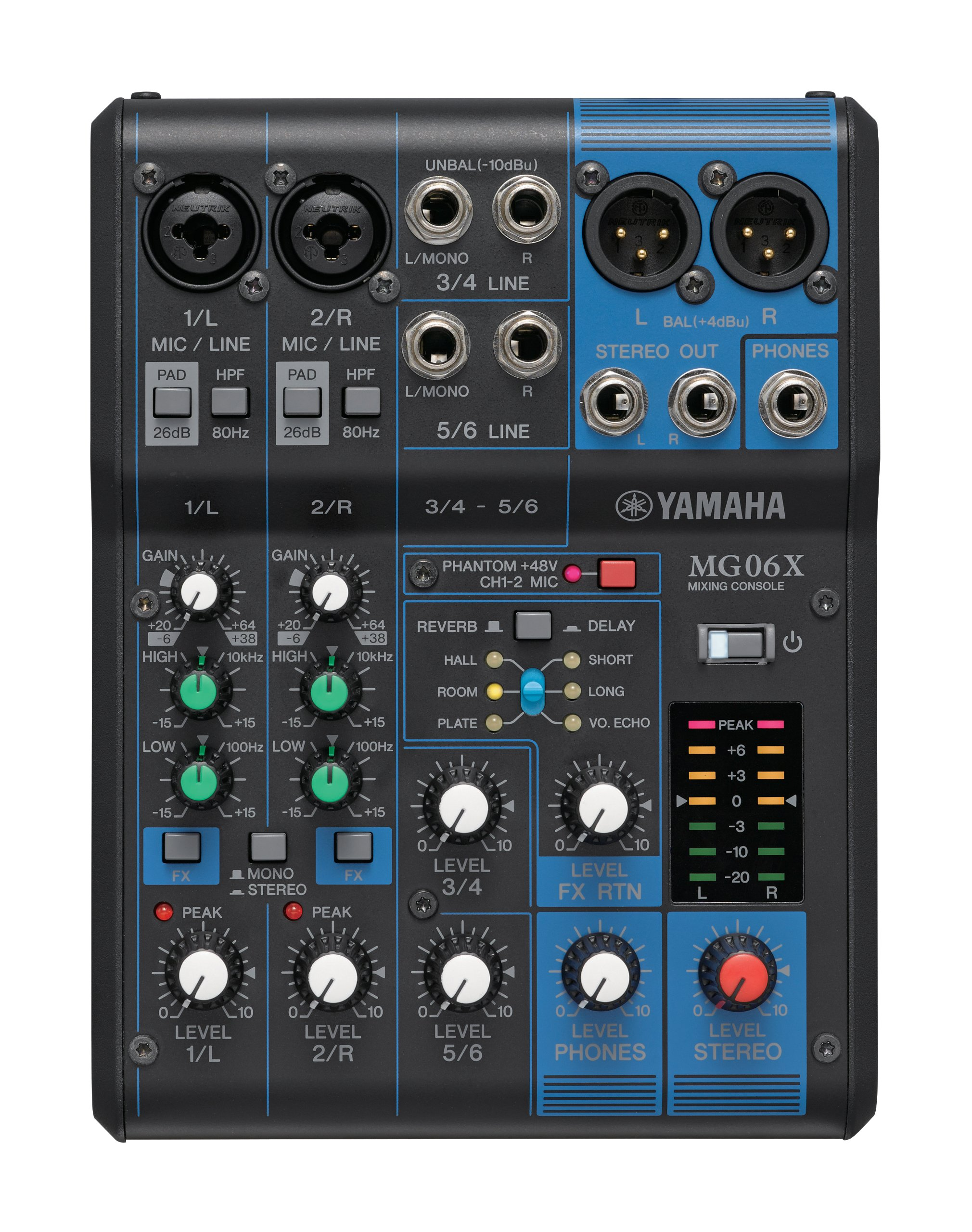 Yamaha MG06X 6 Input Compact Effects