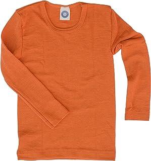 Cosilana Kinderhemd - trui - longsleeve van scheerwol kbT en zijde