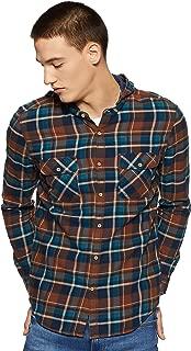 Max Men's Checkered Slim Fit Casual Shirt