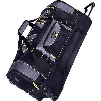 "TPRC Sierra Madre Duffel Bag, Black, 30"" Rolling"