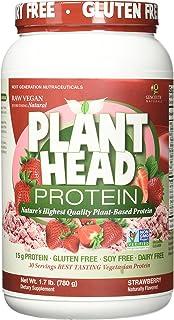 Genceutic Naturals Plant Strawberry Head Protein, 1.7 Pound