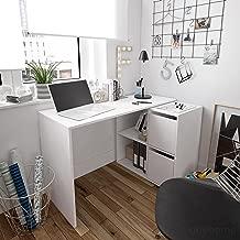 Habitdesign 008311A - Mesa Escritorio, Mueble de despacho, Modelo Adapta, Color Blanco Artik, Medidas: 74 x 120 x 77 cm …