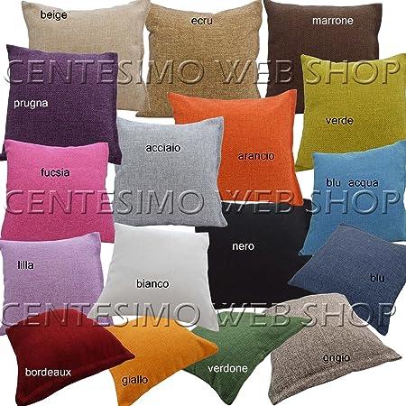 Centesimo Web Shop Cuscino Arredo In 3 Misure Prodotto In Italia 40x40 Cm 50x50 Cm 60x60