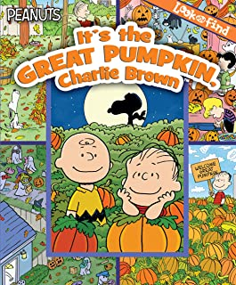 Peanuts - It's the Great Pumpkin, Charlie Brown Look and FInd - PI Kids
