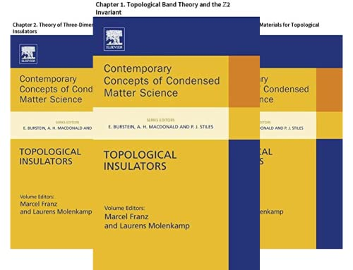 Contemporary Concepts of Condensed Matter Science (10 Book Series)