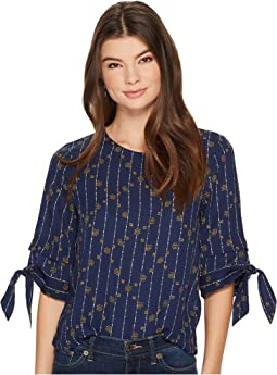 Lucky Brand - Geo Printed Top