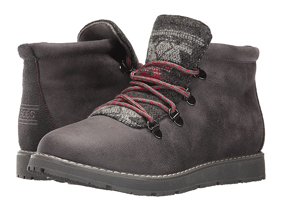 BOBS from SKECHERS Bobs Alpine Keep Trekking (Charcoal) Women
