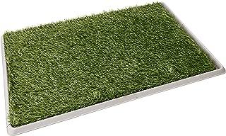 Fancy Pets Doggie Grass - Tapete entrenador de pasto sintético, tamaño grande, 76 x 50 cm