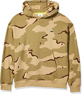Lacoste Mens Long Sleeve Live Camo Printed Sweatshirt