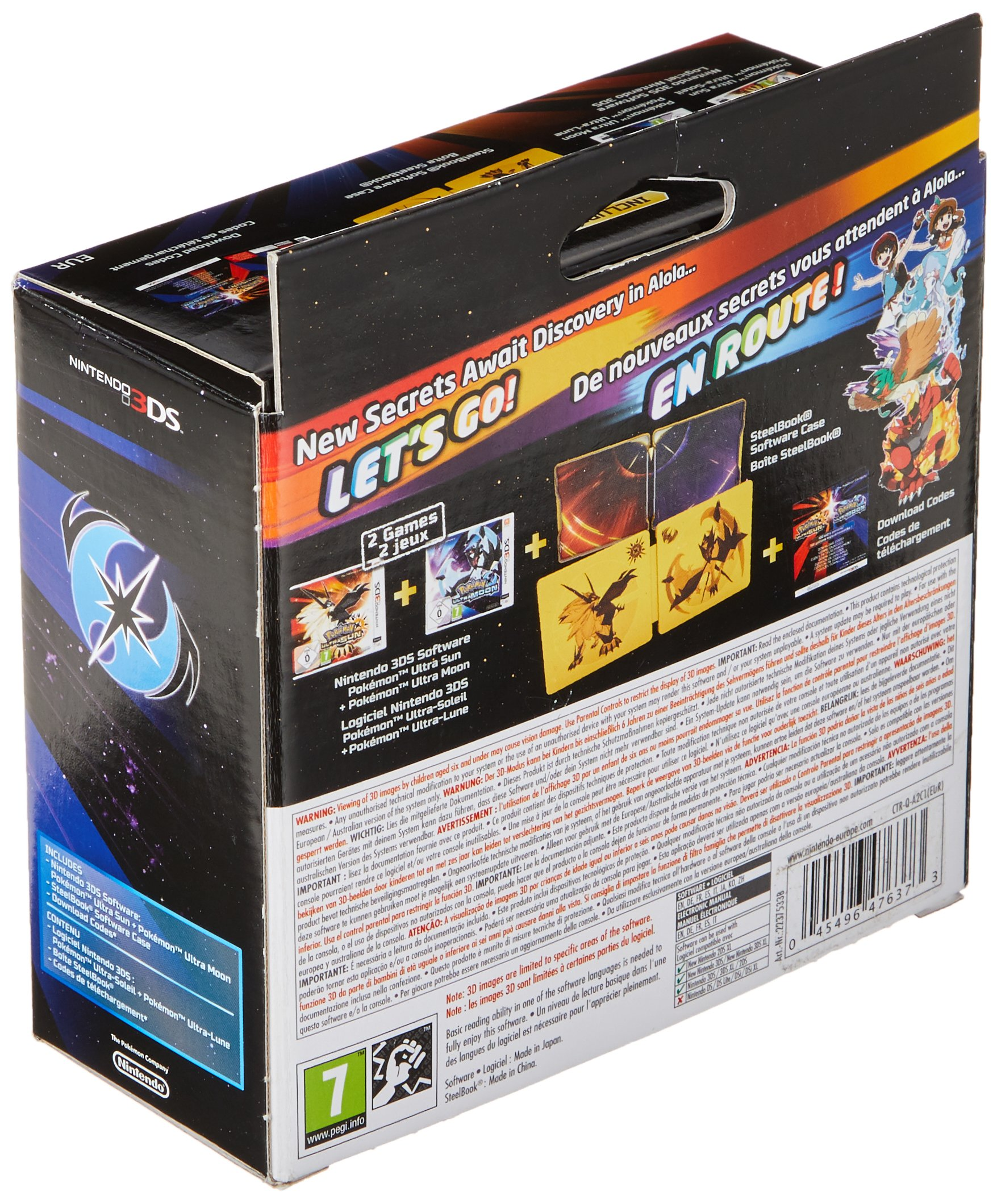 Pokémon Ultra Sole E Luna Collector: Amazon.es: Videojuegos