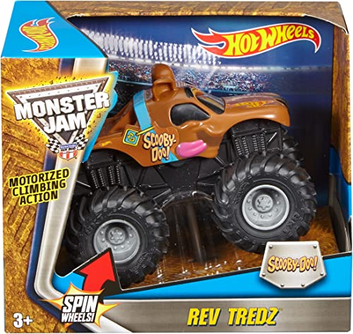 Hot Wheels Monster Jam Rev Trotz Scooby Vehicle (1 43 Scale) by Hot Wheels