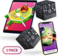 MERGE Cube Augmented Reality STEM Tool - Educational Games for Learning Science, Math, Art and More in The Classroom and Home (2 Pack)