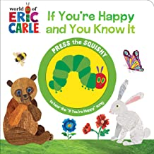 World of Eric Carle, If You're Happy and You Know It - Squishy Button Sound Book - PI Kids (Play-A-Sound)