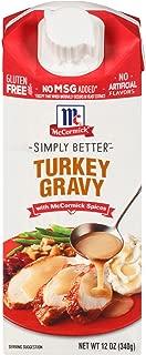 mccormick simply better turkey gravy
