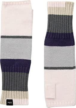 Active Stretch Color Block Fingerless Gloves