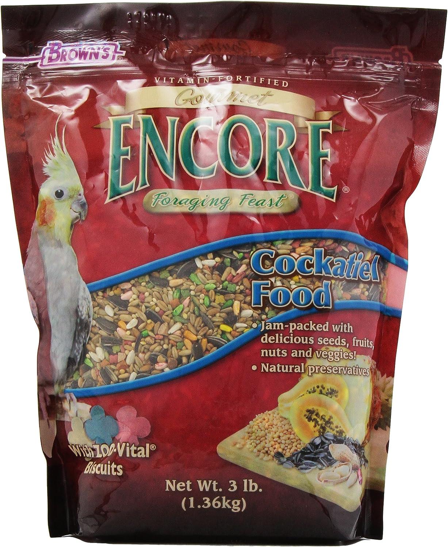 F.M.Brown'S Sale SALE% OFF Encore Gourmet Cockatiel Food Super sale