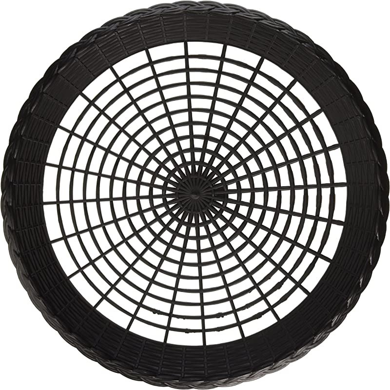 Plastic 9 Paper Plate Holders In Black Maryland Plastics 4 Per Pack
