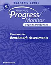 New York Progress Monitor English Language Arts resources for Benchmark Assessments Teacher's Guide 5