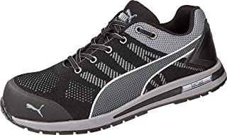 PUMA Safety Elevate Knit Low Chaussure de sécurité S1P ESD HRO SRC Embout en Fibre de Verre et Semelle antidérapant sans m...