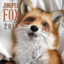 Juniper Fox 2018: 16 Month Calendar Includes September 2017 Through December 2018