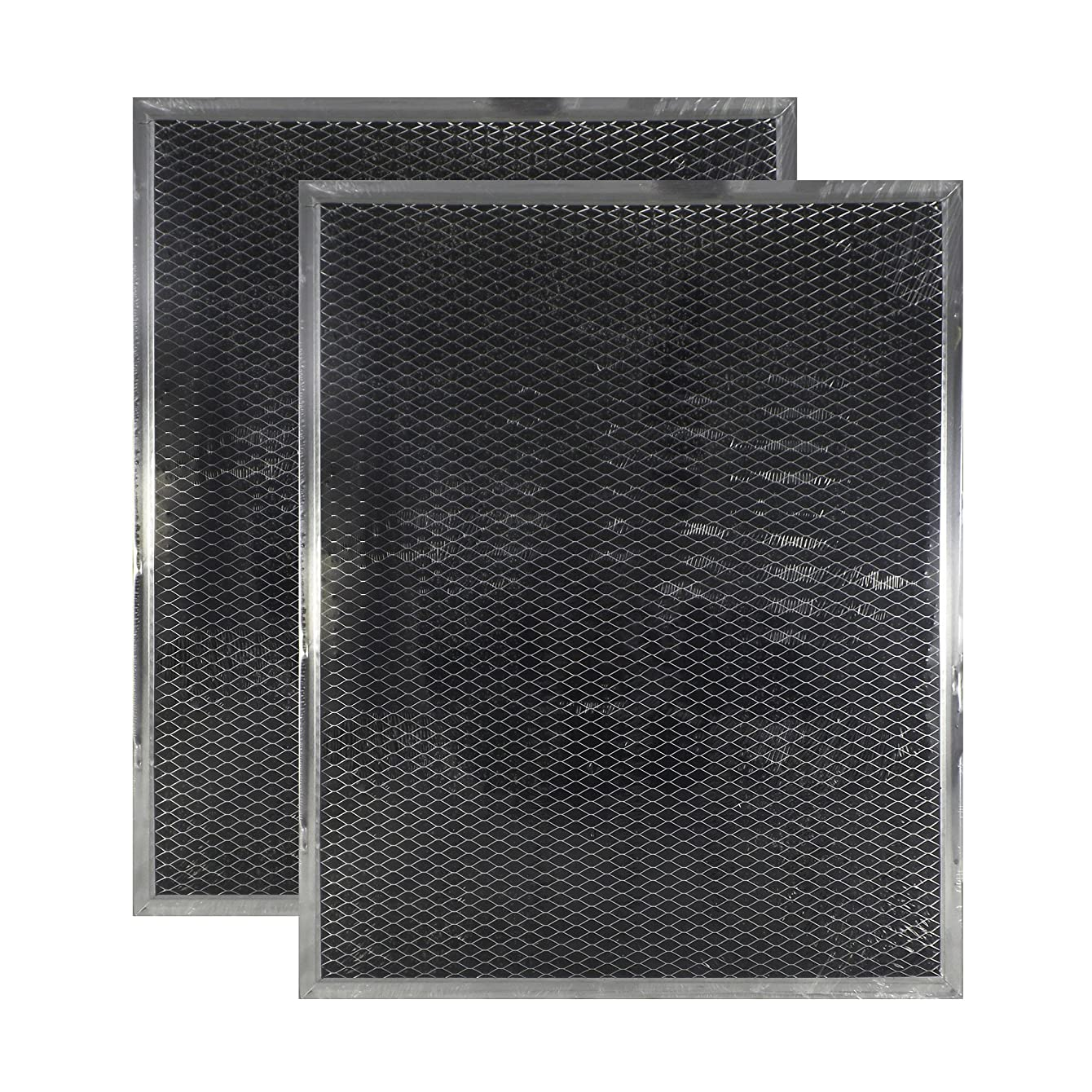 2-PACK Air Filter Factory Compatible Replacement For Broan BPSF30 99010308 QS WS NON-Ducted Measures 10.82