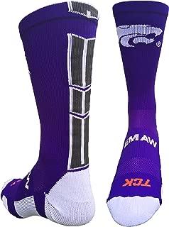 TCK Kansas State Wildcats Baseline 3.0 Crew Socks