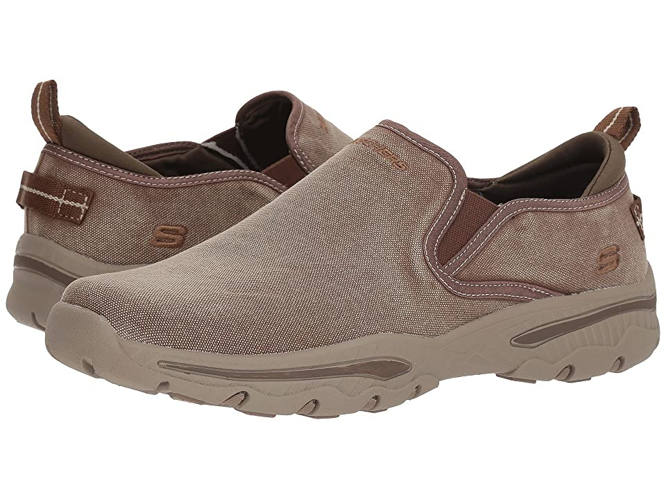 SKECHERS Creston Relect (Light Brown) Men