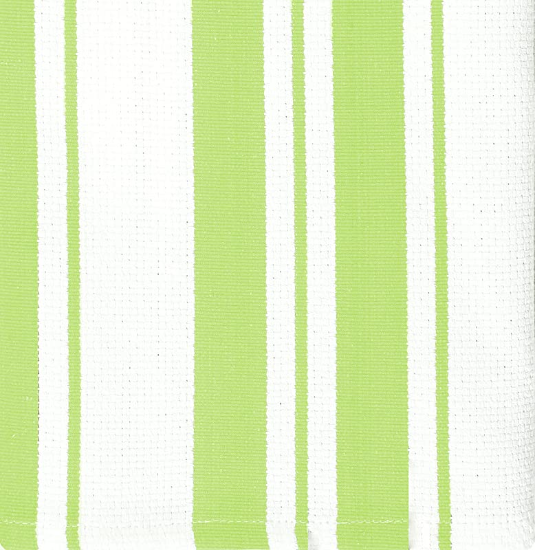 MUkitchen 100 Cotton Stripe Dishcloth Pistachio Set Of 2