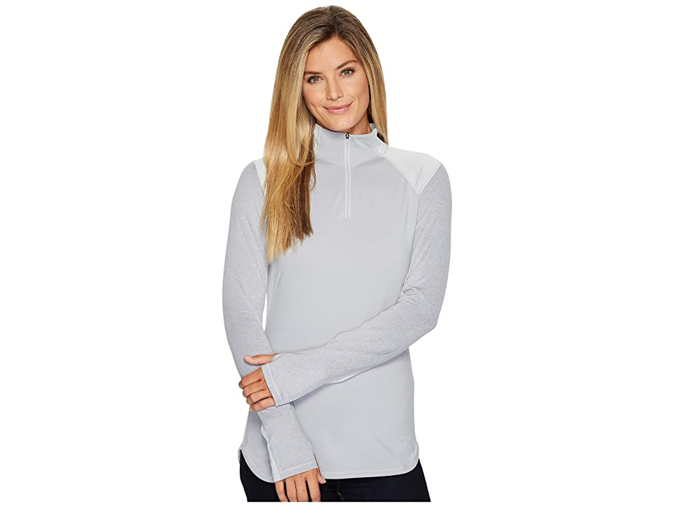 The North Face Motivation 1/4 Zip (TNF Light Grey Heather) Women