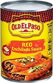 Old El Paso Hot Enchilada Sauce 10 oz. Can