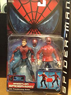 Spiderman Wrestler with Transofrming Action Series 3