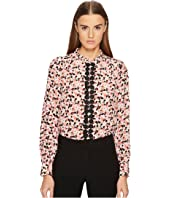 Kate Spade New York - Small Blooms Silk Shirt