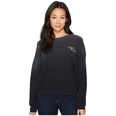 LNA Change of Heart Sweatshirt (Black) Women