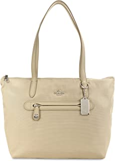 coach foldable nylon tote