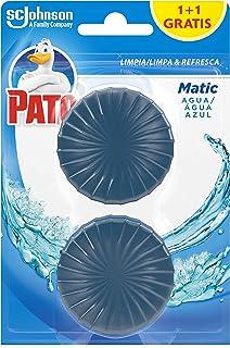 PATO J317008 - Matic Limpiador y Ambientador para Inodoro, Pastilla para Cisterna, 2 Pastillas