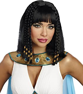 Cleopatra Egyptian Queen Adult Costume Wig