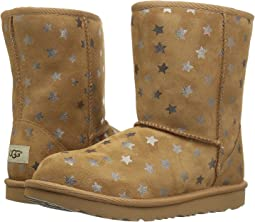 UGG Kids - Classic Short II Stars (Little Kid/Big Kid)