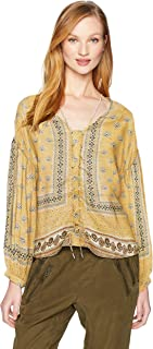 William Rast Women's James Fashion Top